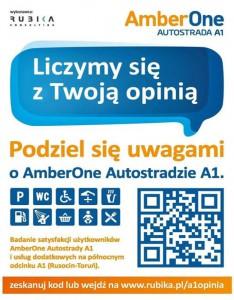 AmberOne Autostrada A1